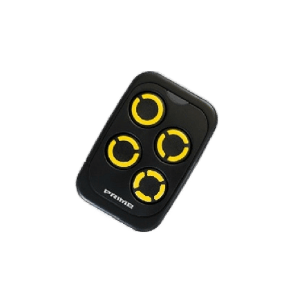telecommande copieuse multifrequence prime boutons jaune