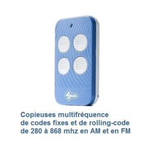 copieuses multifréquence de 280 à 868 mhz AM et FM codes fixes et rolling-code